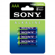 Sony Alkaline Longer Lasting ΑΑΑ LR03 (4Τμχ.)