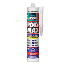 BISON POLYMAX High Tack Express Crystal - Φύσιγγα 280gr