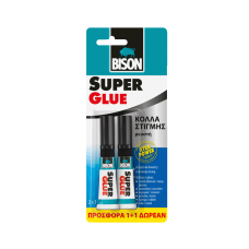BISON Super Glue ρευστή 3gr